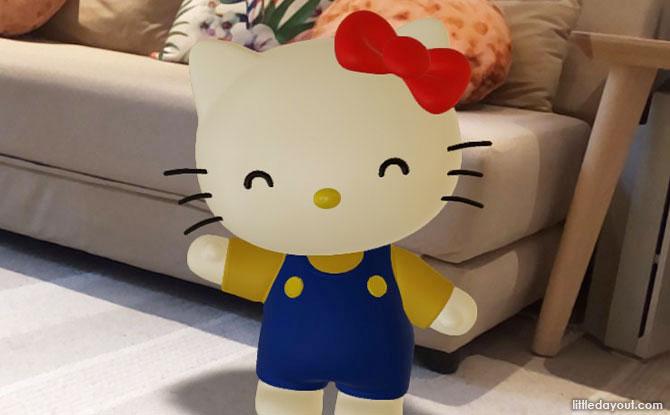 Meet Hello Kitty & Friends With Google AR