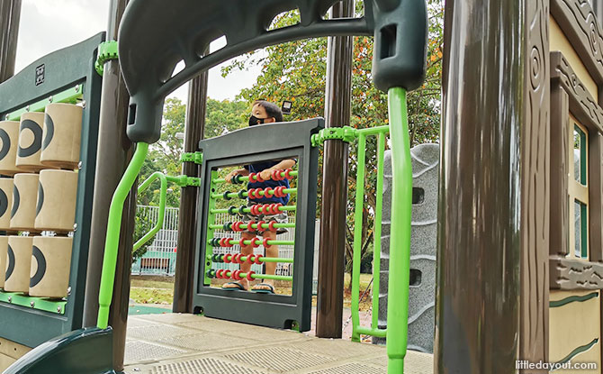 Smaller Playground for the Toddlers