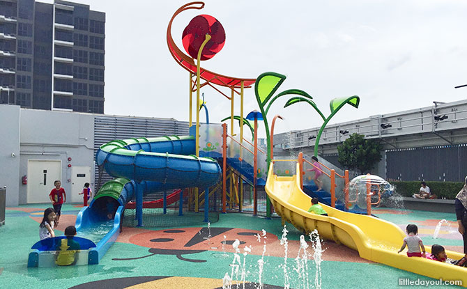 Northpoint City water playground