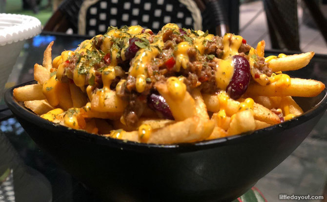 Impossible Chilli Cheese Fries