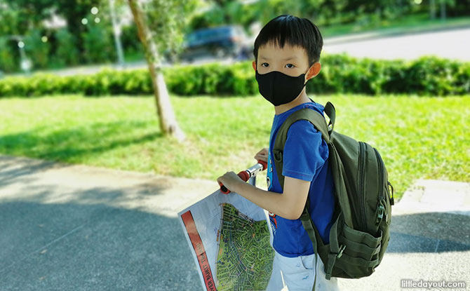 Orienteering With Kids: Rediscovering Neighbourhoods One Map At A Time