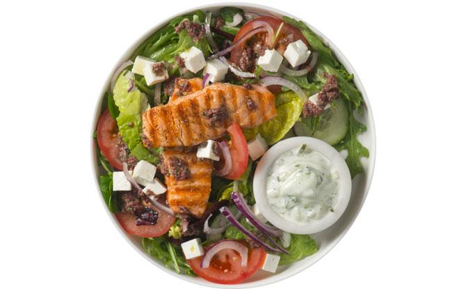 European Salad at Pink Fish Jewel