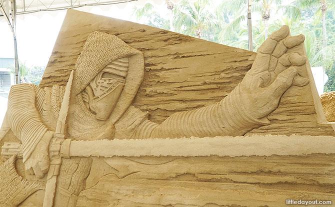 Kylo Ren in Sand