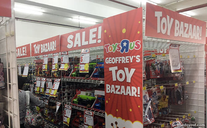 Toys R Us Warehouse Sale 2018 at Outram Road