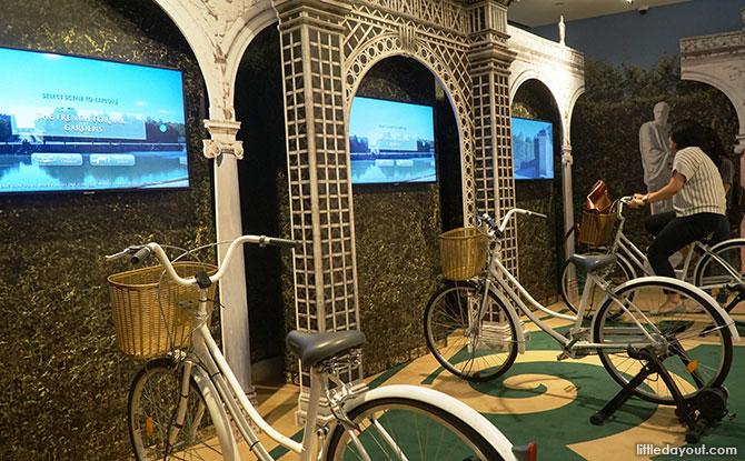 Cycle through Versailles' Gardens