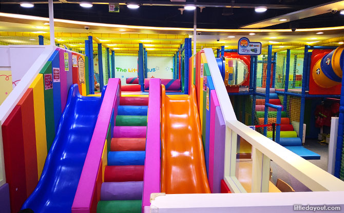 At the Tayo Indoor Playground in Seoul, Korea with Kids