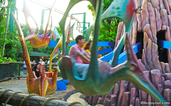 Flying Dinosaurs Around Singapore