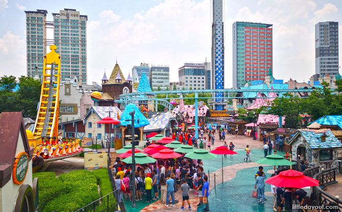 Magic Island, Lotte World