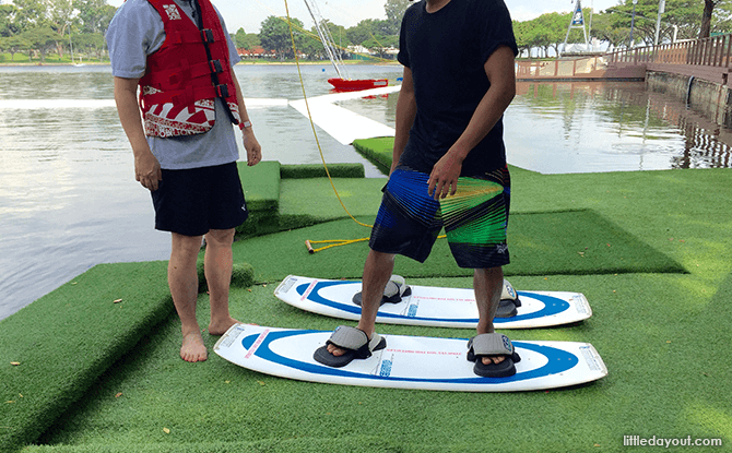 How to balance on a wakeboard
