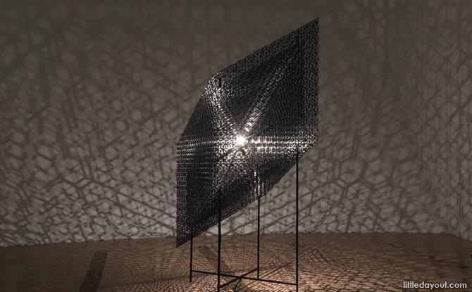 Slow Arc inside a Cube VIII by Conrad Shawcross