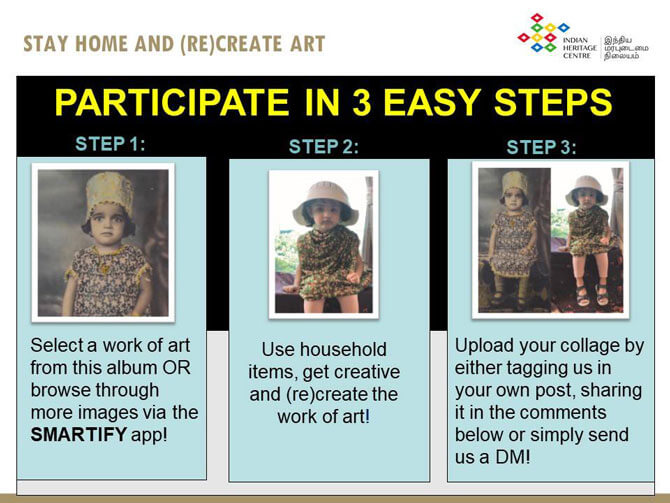 (Re)create art with Indian Heritage Centre