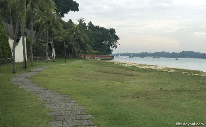 Beach Walk, Changi Point Coastal Walk