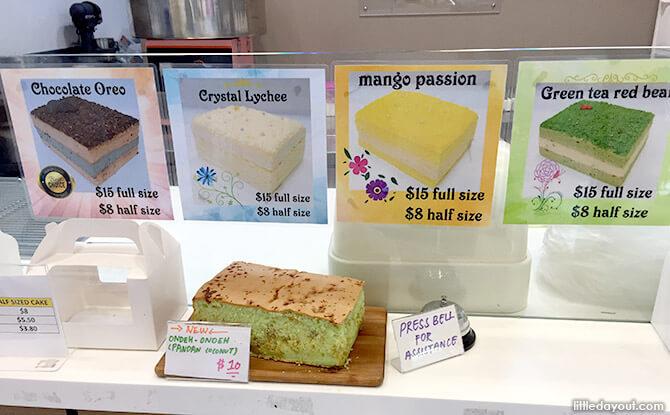 Nouveau Castella Cakes