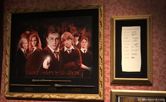 Dumbledore's Army Signatures