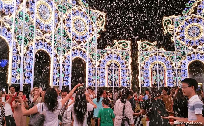 Snow at Christmas Wonderland
