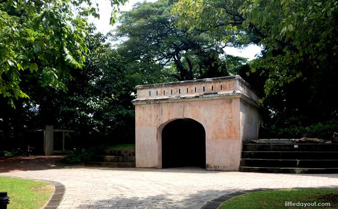 Fort Gate at Fort Canning Park