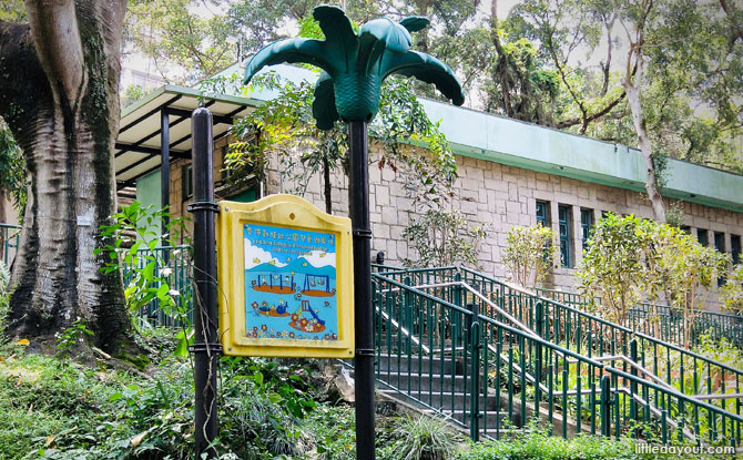 Hong Kong Zoological And Botanical Gardens Children's Playground