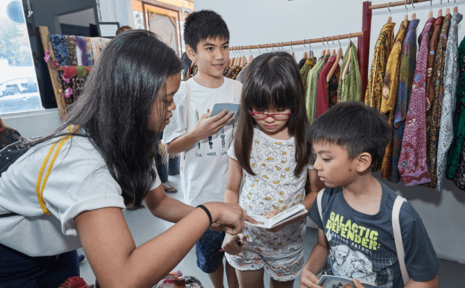 Heritage Hunt during Children's Season 2017 organised by Malay Heritage Centre