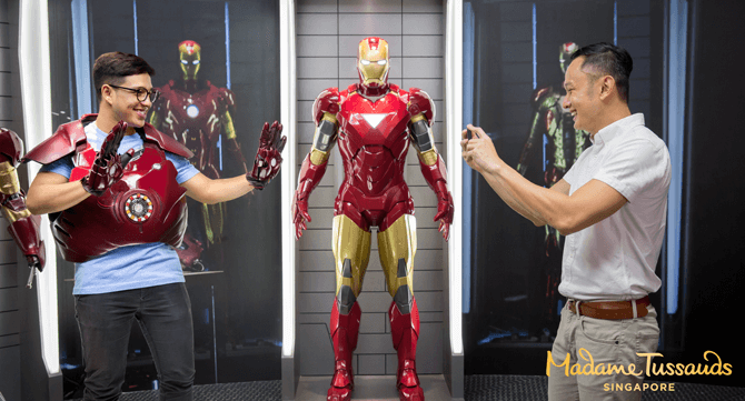 Madame Tussauds Singapore's New Marvel 4D Experience