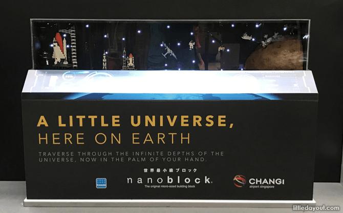 Space Display at Nanoblock Museum
