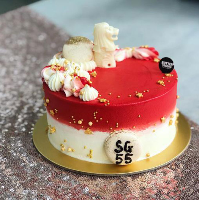 """Butter Studio's """"Our Singapore"""" Cake"""