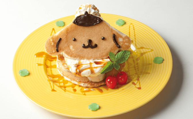 Banana Caramel Pancake