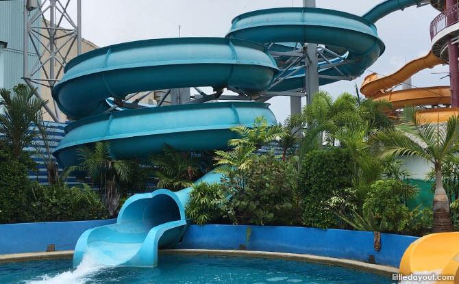 Pororo Aqua Park Slides