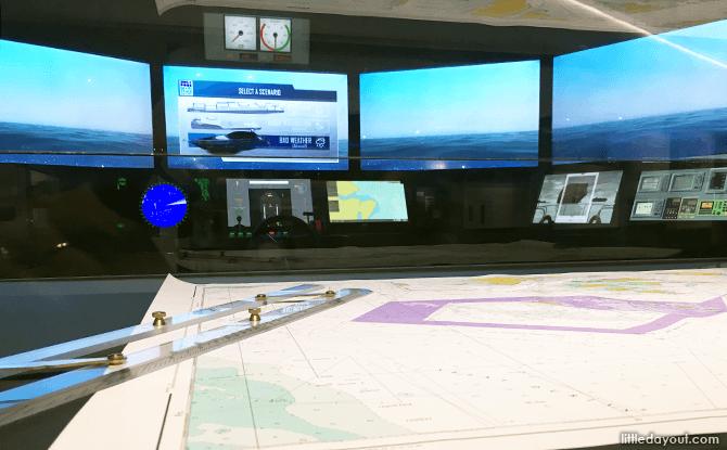 Ship Handling Simulator
