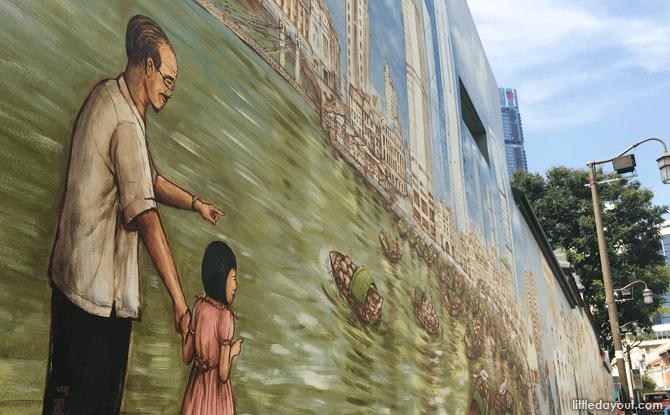 Singapore River, Thian Hock Keng Temple Mural
