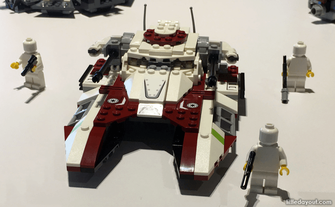Prototype of the Republic Fighter Tank