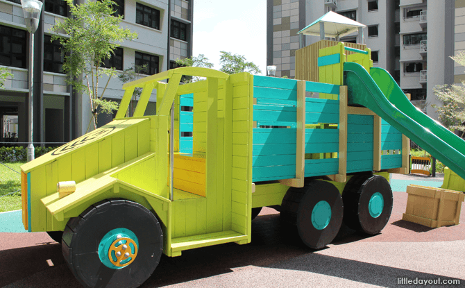 Military Truck Playground