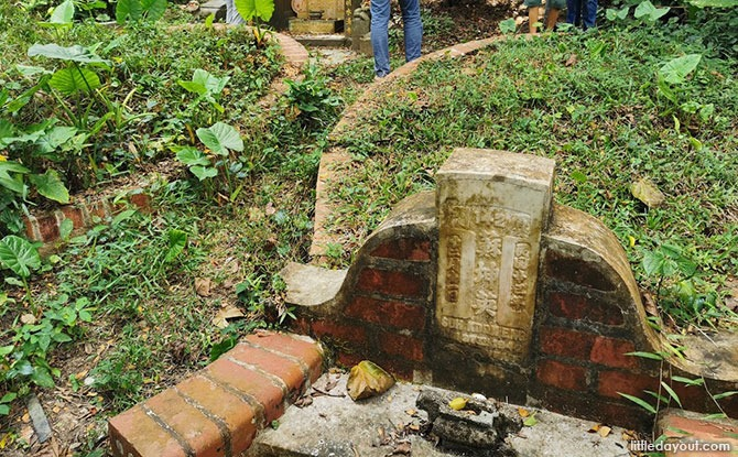 Grave of Soh Koon Eng