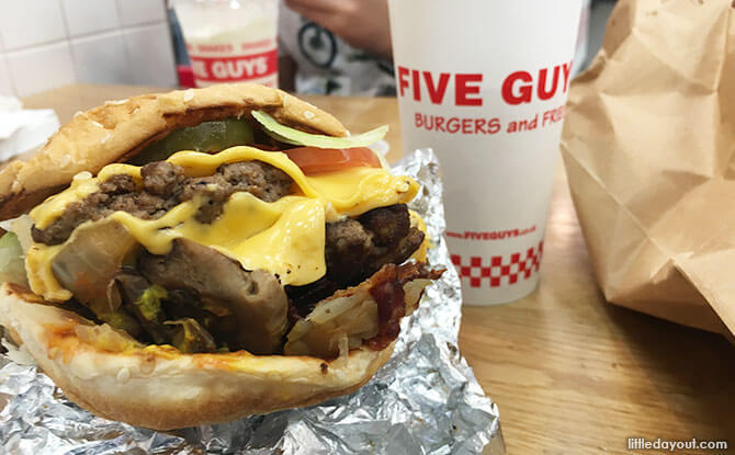 Fast Food in Singapore - Five Guys