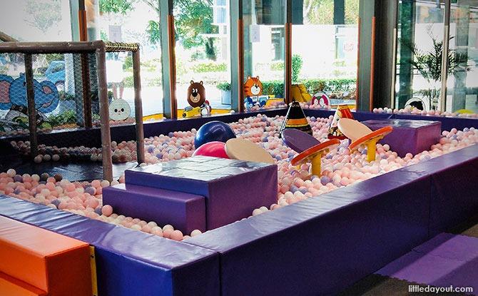 Raby's Pit, Kiztopia Indoor Playground