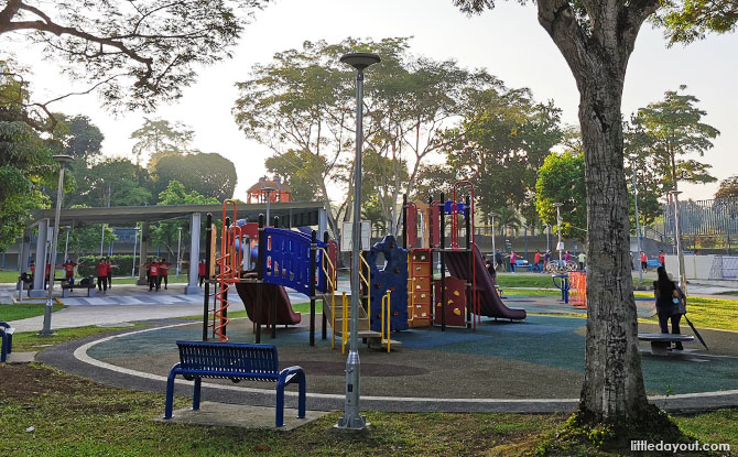 Limbang Park playground for toddlers