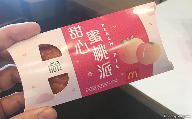 McDonald's Peach Pie