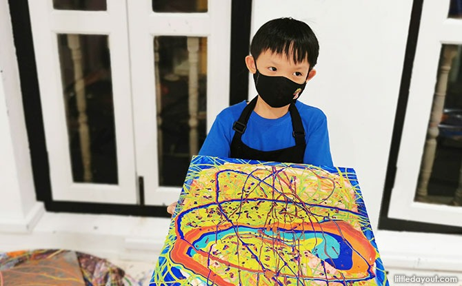 Parent and Child Bonding Session through Art and Science