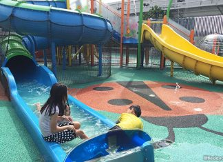 Northpoint City Playground: Splish-Splash At The Mall