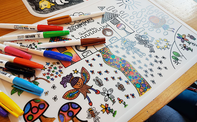 Colouring Mats