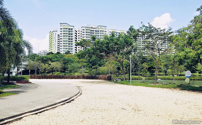 Sand Play Area at Punggol Waterway Park