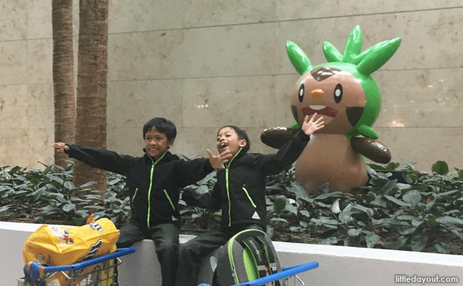 Pokemon at Changi