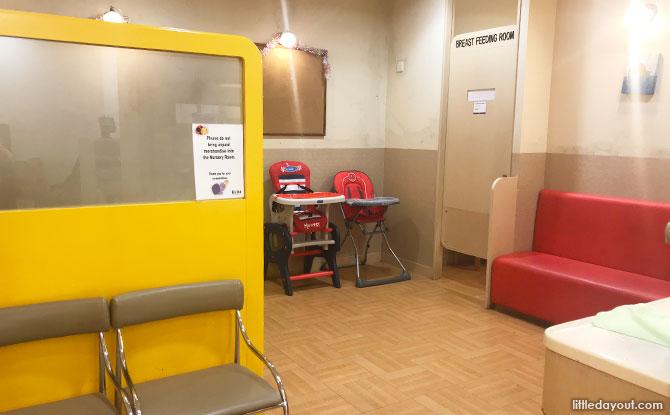 Isetan Scotts (Shaw Centre) Nursing Room