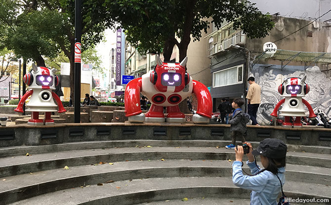 Robot, Taipei with Kids