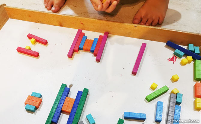 Tickle Your Senses Edx Education Math to GO Early Math Kit