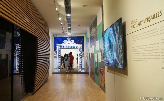 Corridor to Virtually Versailles