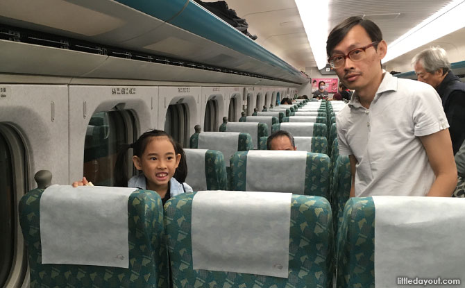 Riding the trains in Taiwan