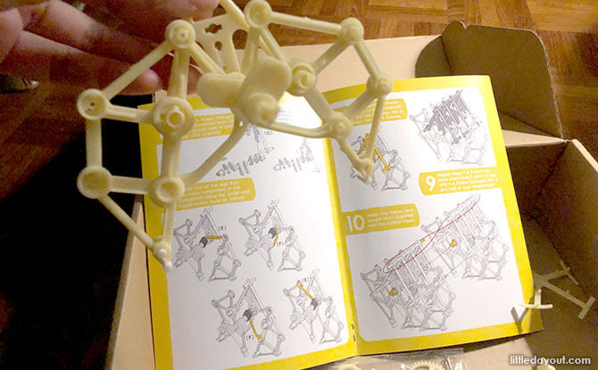 Curious Kits Review: Assembling the Wind Powered Machine from Curious Kits