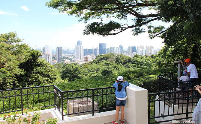 Views of the West of Singapore from Mount Faber