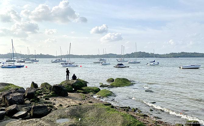 Coast off Changi Sailing Club
