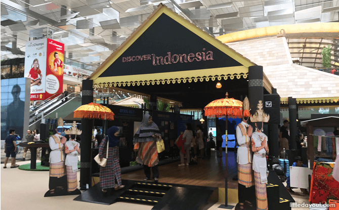 Discover Indonesia, Changi Airport